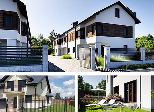Tanie domy - segmenty i bliźniaki Warszawa Wawer